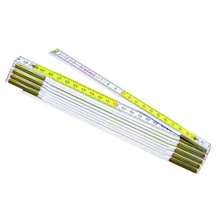 2 Metri - In Legno - Spessore 3 Mm - Metrica