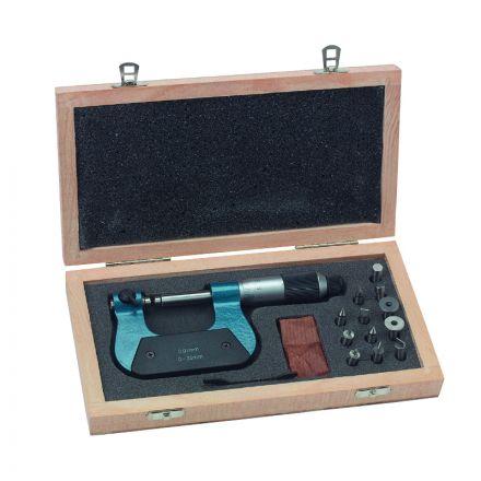 Micrometro Universale Con Contatti Intercambiabili - Metrica