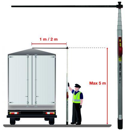 TELEFIX CON BRACCIO TELESCOPICO 1 m o 2 m (*)
