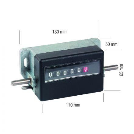 Contametro A 6 Cifre (99999,9) - Metrica