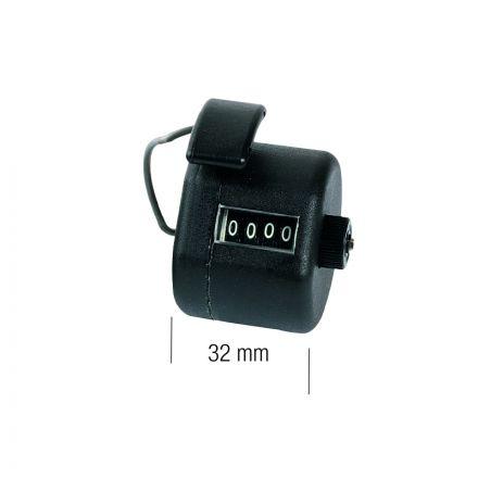 Contatutto Manuale Tascabile 4 Cifre (9999) - Metrica