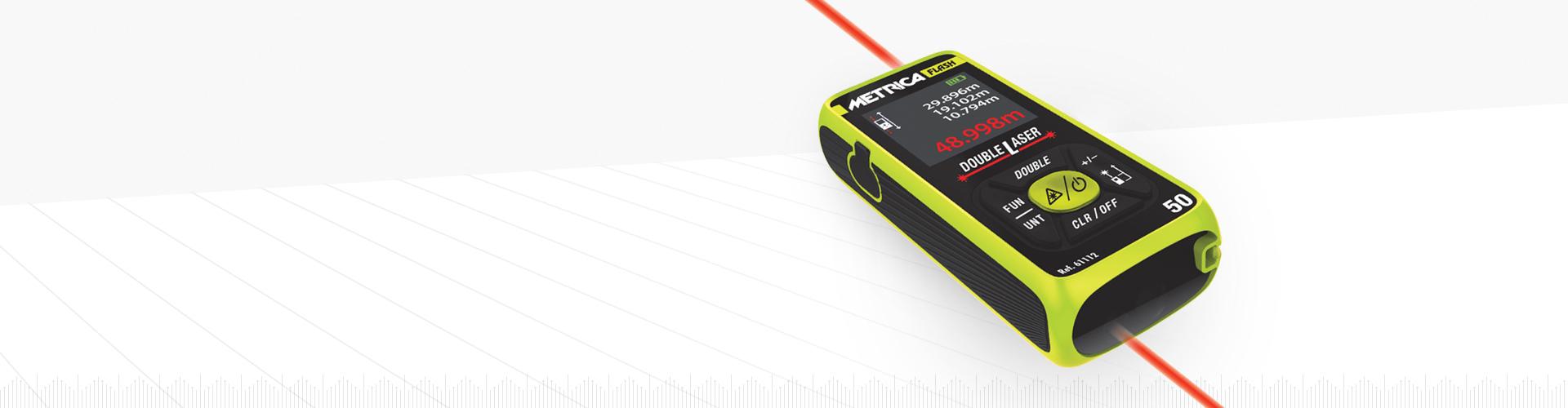 Distanzmessgerät Double Laser - Metrica